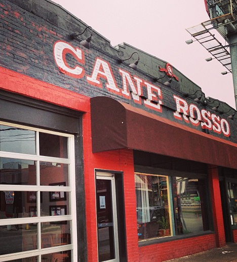 Dinner on the Town at Cane Rosso